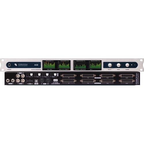 Ferrofish A32 32kHz / 192kHz Channel Analog Multitrack Recorder, Royal Blue