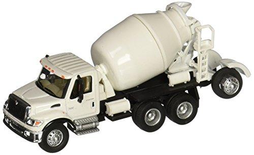 - Walthers SceneMaster International 7600 3-Axle Cement Mixer, White