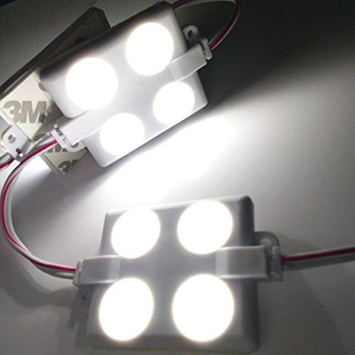 Astounding 12V 40 Leds Van Interior Lights White Led Lamp Waterproof With Led Wiring 101 Bdelwellnesstrialsorg
