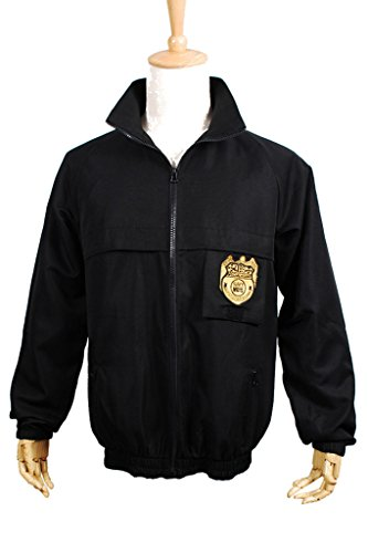 Fancy Style FancyStyle NCIS Cosplay Staff Costume Jacket Coat Uniform Black Male S
