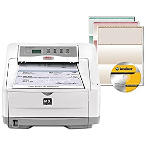 VersaCheck OKI Data B4600nMX Secure MICR Printer