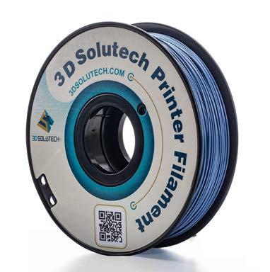3D Solutech Cadet Blue 3D Printer PLA Filament 1.75MM, Dimensional Accuracy +/- 0.03 mm, 2.2 LBS (1.0KG)