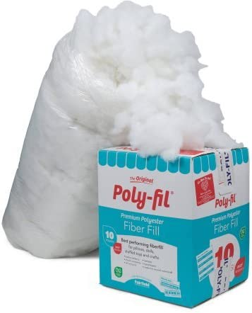 Fairfield 10-Pound Poly-Fil Premium Polyester Fiber, White | Smooth Consistency (10-Pound) (1)