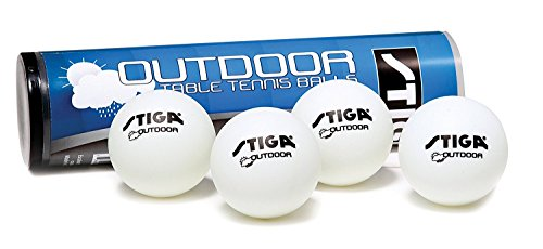 STIGA Outdoor Table Tennis Balls (4 Balls) by Stiga