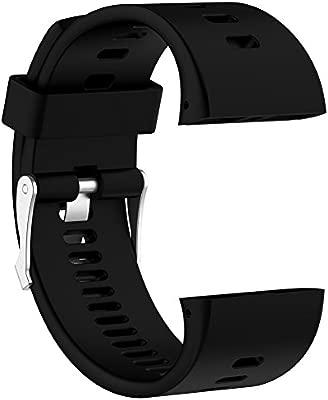 Correa de silicona ajustable de repuesto Rejoicing, para reloj inteligente Polar V800 con herramienta (reloj no incluido)