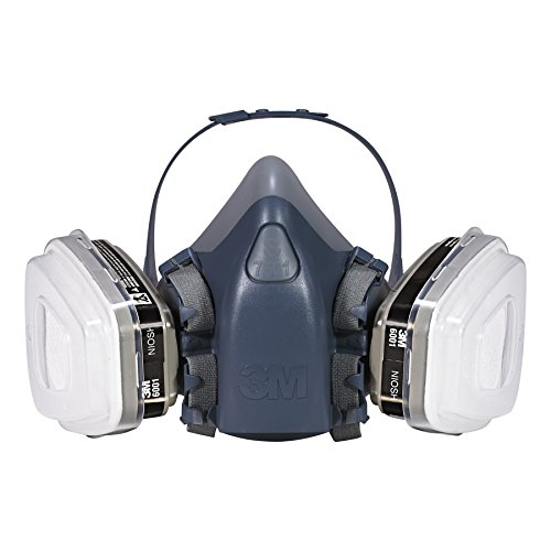 3M 7511PA1-A-PS Professional HalfMask Organic Vapor, N95 Respirator Assembly, Small