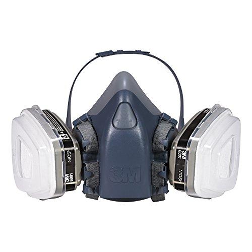 3M 7511PA1-A-PS Professional HalfMask Organic Vapor, N95 Respirator Assembly, Small