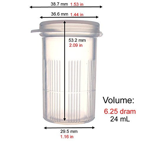 Maymom Water Tight Sample Vials Bottle Cup For Small