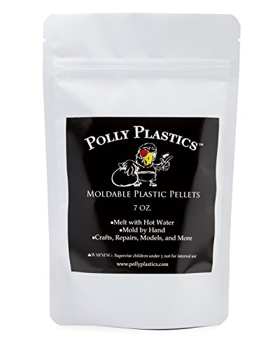 Moldable Pellets by Polly Plastics (7 oz) | Thermoplastic Beads | Cosplay, Projects, Repairs