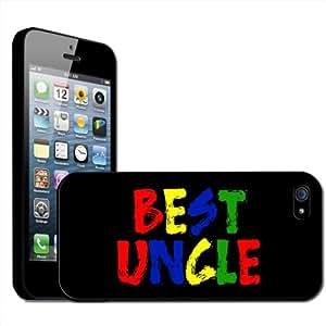Fancy A Snuggle - Carcasa rígida para iPhone 5, diseño con texto Best Uncle