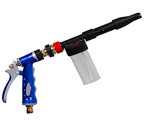 Liveinu Hose Nozzle High Pressure Garden Spray Nozzle Heavy-Duty Hose Sprayer for Plants,Car Wash and Showering Pets by Liveinu