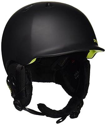 Pro-tec Riot BOA Snow Helmet, Matte Black Citrus, Small