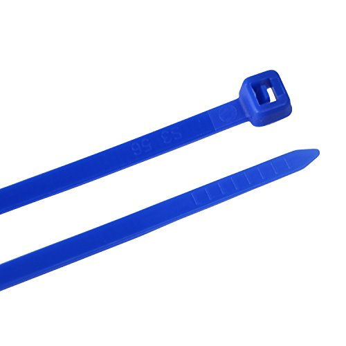 Creative Solutions CS-111B Cable Tie, 11 in, 30lb, Craft, Wrap & Decorate, Zip Tie, 25 Pk, Blue