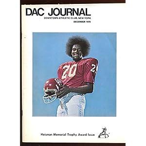 1978 Heisman Trophy DAC Program Autographed 4 Signatures LOA Autographed College Magazines