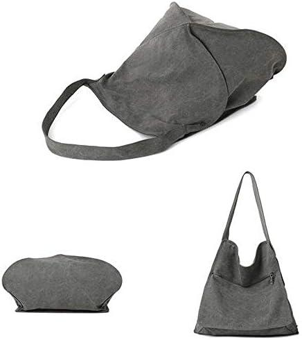 女性のキャンバスの不規則なトートバッグのハンドバッグカジュアルなショルダーバッグ YZUEYT