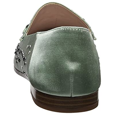 NINE WEST Women's WESTOY Satin Loafer Flat   Loafers & Slip-Ons