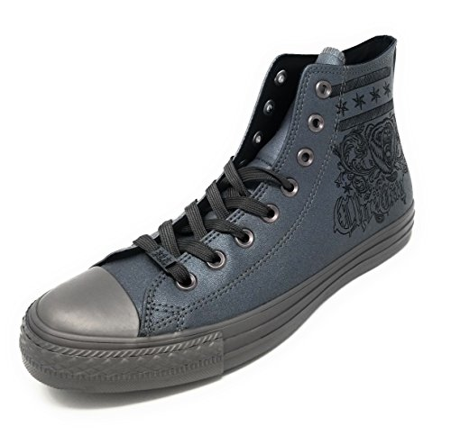 Top Star High Casual in Gunmetal and and Canvas All Unisex Chuck Taylor Color Converse Style Durable Black Sneakers Uppers Classic Gunmetal ICYqwpW