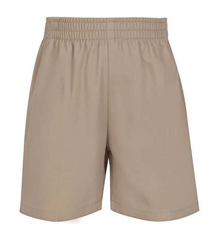 CLASSROOM Big Boys' Uniform Pull-On Short, Khaki, -