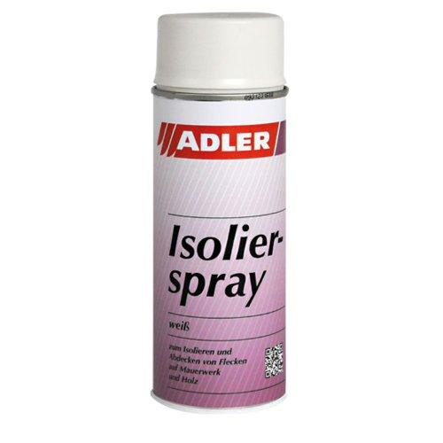 Adler Isolierspray 400ml Weiß - Unverselle Isolierfarbe für Flecken