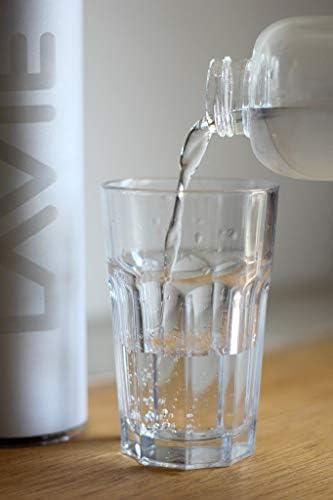 LaVie Botella de Vidrio de Borosilicato de 1 Litro para Purificador de Agua LaVie Pure & Premium: Amazon.es: Hogar