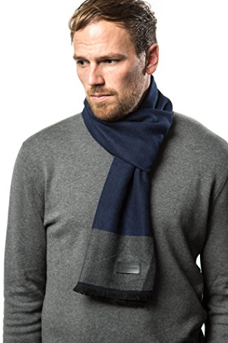 Marino's Winter Cashmere Feel Men Scarf,100% Cotton for sale  Delivered anywhere in USA