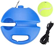 Tennis Ball with Black Rope, Self-Study Tennis Base Trainer Baseboard Rebound Ball Training Tool