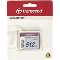 Transcend 512MB Industrial Compact Flash Card (TS512MCF200I)