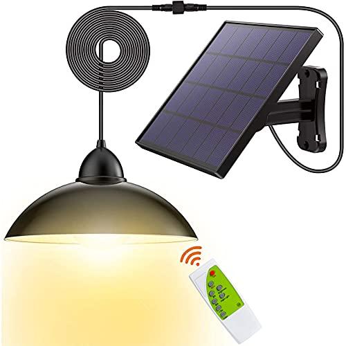 Solar-Lights Outdoor LED-Security Waterproof-Pendant Porch-Light