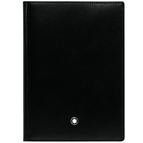 Montblanc Men's Meisterstück Passport Holder Universal, Black, One Size by MONTBLANC