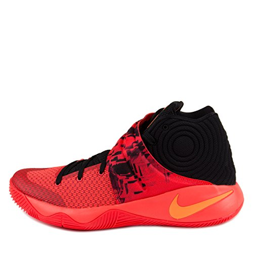 new styles 8ad46 f10eb nike kyrie 2 mens hi top basketball trainers 819583 sneakers shoes (US 13,  bright crimson atomic orange black 680)