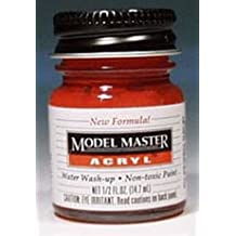 Insignia Red Testors Acrylic Plastic Model Paint