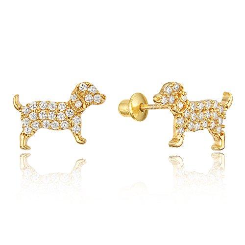 Puppy Earrings - 4