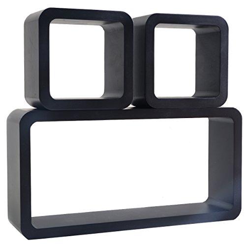 Review Giantex 3PC Floating Wall Shelves Shelf Display Decor Storage Black By Giantex by Giantex