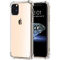 Capinha Tpu Borda Anti Impacto Transparente Silicone iPhone 11 Pro Max 6.5 Polegadas, Fse Acessórios, Transparente