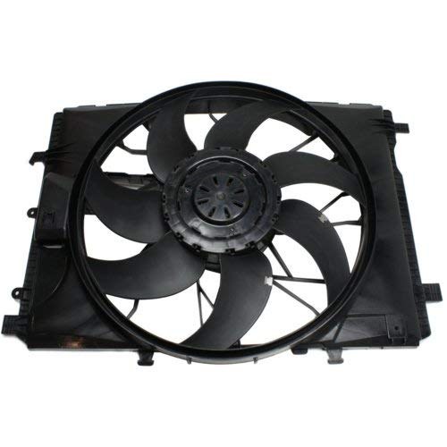 Garage-Pro Cooling Fan Assembly for MERCEDES BENZ C-CLASS 2008-2015/E-CLASS 2010-2017/SLK-CLASS 2012-2016