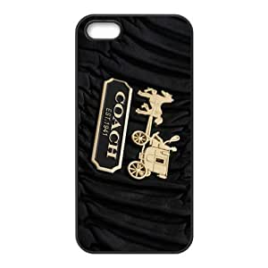 Happy Coach design fashion cell phone case for iPhone 5S