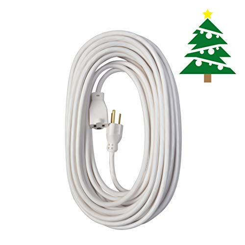 Yard Master 992382 White Outdoor Patio Cord, 40-Foot