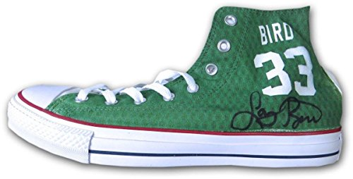 5d42b73e3cf6 Larry Bird Signed Autographed Converse Custom Shoes Celtics Size 12 COA - JSA  Certified - Autographed NBA Sneakers