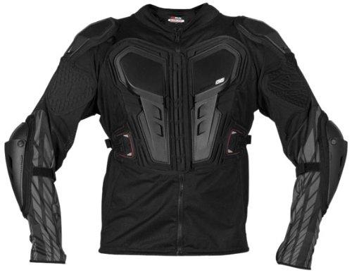 Evs Body Armor (EVS G6 Lite Adult Ballistic Jersey Off-Road/Dirt Bike Motorcycle Body Armor - Black / 3X-Large)