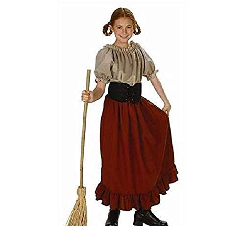 Child's Renaissance Peasant Girl Halloween Costume (Size: Large 12-14) Child Renaissance Peasant Girl