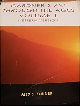 Book Gardner's Art Through the Ages Volume 1 Western Version