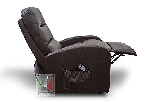 Stil sedie poltrona recliner reclinabile relax alzapersona