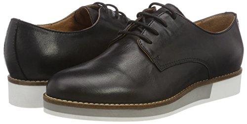 black Scarpe Stringate Shoes Lace Bianco 10 Donna Nero Derby Up qv6t77x8