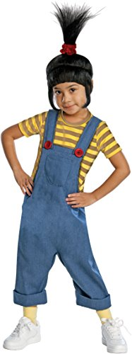 Despicable Me 2 Agnes Deluxe Costume, Toddler 1-2 ()