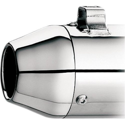 Kerker 108-7257 Tapered Replacement End Cap with Chrome (Kerker Chrome End Caps)