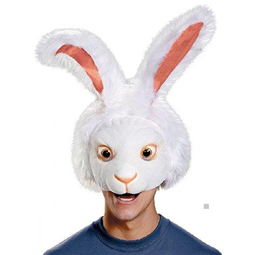 Vampiress Wig In White (White Rabbit Headpiece Costume Mask Adult Alice In Wonderland)