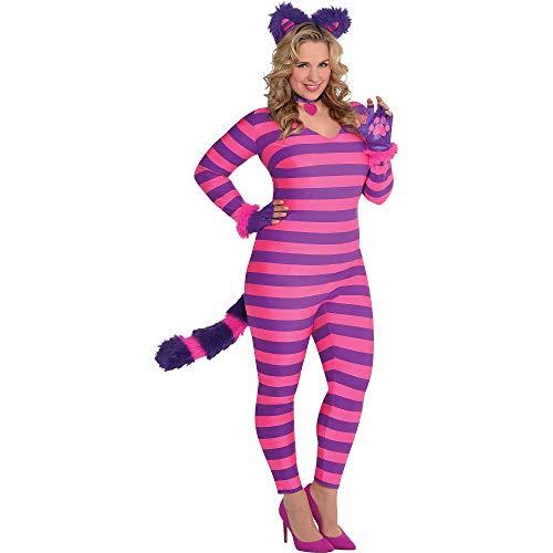 Lady Cheshire Cat Adult Costume - Plus Size -