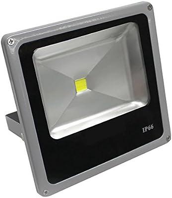 Ledbox Proyector Led Slim 50 W, Blanco Frío: Amazon.es: Iluminación
