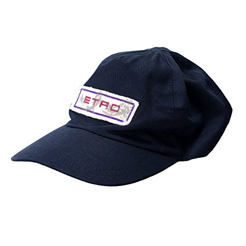 etro-navy-logo-decorated-unisex-baseball-cap-sz-s