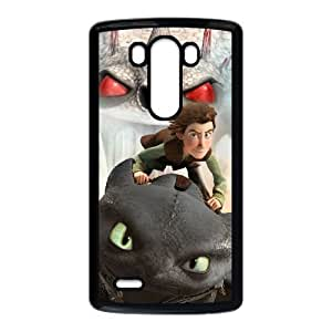 Protection Cover LG G3 Cell Phone Case Black Yxqwj How to train your dragon Personalized Durable Cases
